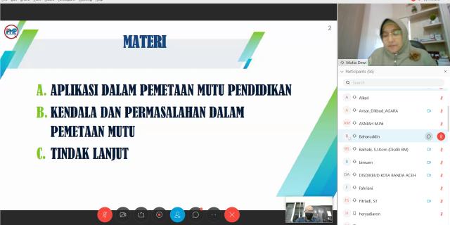 Diskusi Optimalisasi Progres PMP