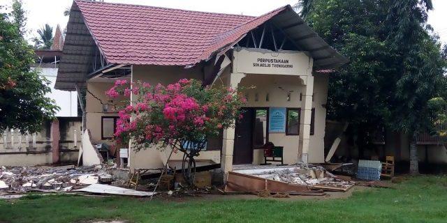 Gempa 6,4 SR Hancurkan 82 Sekolah di Pidie Jaya