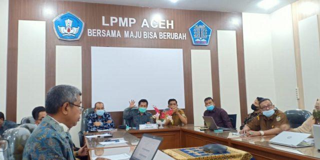 Persiapan Pleno Kelulusan Program Sekolah Penggerak, LPMP Provinsi Aceh selenggarakan Rakor Pengisian Akhir Borang dan Kelulusan Program Sekolah Penggerak Angkatan I