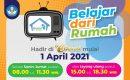 Mulai 1 April 2021 Simak Tayangan Program BDR di TV Edukasi