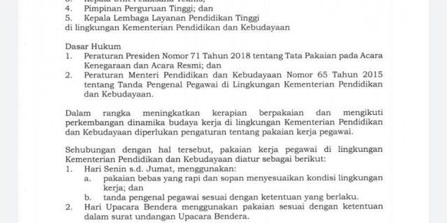 surat keputusan seragam